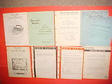 1956 MERCURY MONTCLAIR CONVERTIBLE BENDIX/PHILCO AM RADIO SERVICE SHOP MANUAL 56