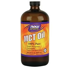 Now Foods MCT Oil 100% Pure 32 oz Liquid