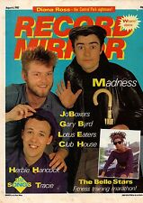 Madness on Magazine Cover 6 August 1983   Gary Byrd   Diana Ross  Herbie Hancock