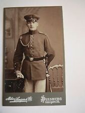 Duisburg - Soldat Eckel in Uniform - Regiment IR 159 / CDV