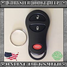 NEW REPLACEMENT KEYLESS ENTRY REMOTE SHELL CASE FOB CHRYSLER DODGE 3 BUTTONS