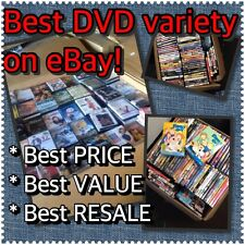30 DVD Wholesale Assorted Lot! Best Variety  & Price!!! Your DVD Source!!!!