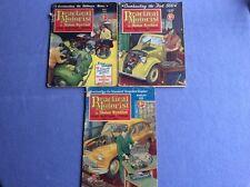 + Practical Motorist & Motor Cyclist - May, June, Aug 1955 - Vol 2, 13, 14, 16 +