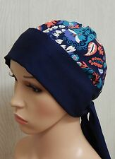 Chemotherapy bandanna, surgical cancer cap, chemo head wear head wrap, bonnet
