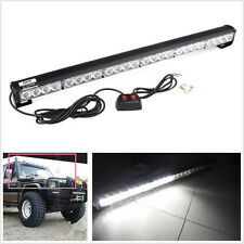 A Set 12V 24LED White Vehicle Exterior Emergency Safety Alert Strobe Flash Light