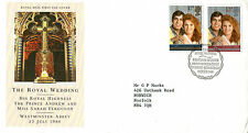 22 JULY 1986 ROYAL WEDDING ROYAL MAIL FIRST DAY COVER BUREAU SHS