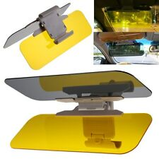 HD UV Anti-Glare Universal Auto Car Flip Down Shield Sun Visor Day/Night Vision