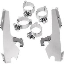 Memphis Shades Black Plate-Only Hardware Kit for Batwing Fairing MEK1852