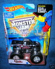 HOT WHEELS 2015 METAL MULISHA MONSTER JAM TRUCK NEW LOOK BATTLE SLAMMER LEGENDS