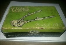 Vintage Oster SIZE 000 Model 105 Hand Hair Clipper In Original Box