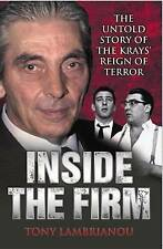 The Krays - Inside the firm by Tony Lambrianou - Paperback Book New