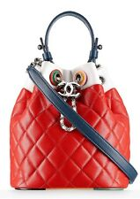 NWT AUTHENTIC 2017 CRUISE CHANEL MULTI COLOR  BUCKET BAG CUBA COLLECTION