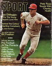 1968 (Aug.) Sport Magazine,Baseball, Pete Rose, Cincinnati Reds ~No Label~ FAIR