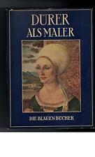 Dürer als Maler - Die blauen Bücher