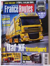 France Routes de 11/2005; Les 550 Cg du Fh 16 à l'essai/ Daf XF Transfiguré