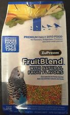 Zupreem FruitBlend bird Food Avian fruit blend pellet diet 14oz parakeets