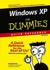 Windows XP for Dummies Quick Reference by Greg Harvey (Paperback, 2004)