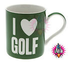 FATHERS DAY I LOVE GOLF WORDS OF WISDOM COFFEE MUG TEA CUP NEW & GIFT BOXED