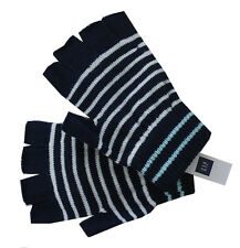 Gap Women's Stripe fingerless gloves -Navy