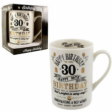 Signography 30th Birthday Mug Gift