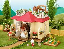 Calico Critters Sylvanian Families HOUSE WITH TERRACE Epoch