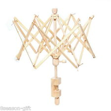 1PC Umbrella New Wooden(Birch) Swift Yarn Winder Holder