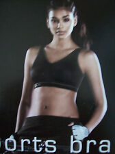 Bra Womens Anita 5521 Light & Firm Support Sports Bra Black Size 42 D New Boxed