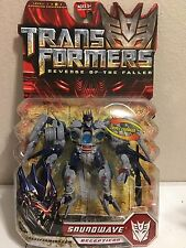 Transformers ROTF Revenge of the Fallen Deluxe class Soundwave MOSC Movie New