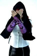 LIP SERVICE SCARF SCARVE PUNK GOTHIC GLOVES ARM WARMERS CYBER RAVE TECHNO S/M