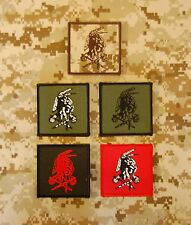 NSWDG Red Squadron Shooter Patch Deluxe Set Seal Team Six DevGru Red Team ST6