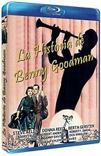 Blu Ray THE BENNY GOODMAN STORY Steve Allen, Donna Reed. UK compatible. New.