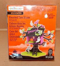 Halloween 3D Foam Kit 56pc Creatology 6+ Haunted Tree House From Michaels 35I