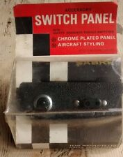 NEW SABRE ACCESSORY SWITCH PANEL TOGGLE KIT VINTAGE CLASSIC CAR RALLY STYLE DASH