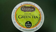 12 Celestial Green Tea DECAF K cups Blended With White Tea Keurig & Keurig 2.0