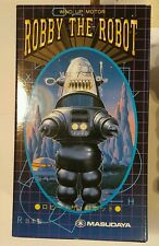 Robby The Robot - Wind Up Motor Toy by Masudaya -Japan Vintage 1997 new BOX