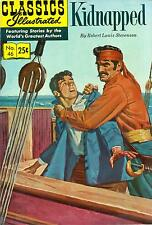 Classics Illustrated #46 - Kidnapped - HRN 169 - Summer 1970 stiff cover