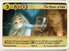 A Game of Thrones LCG - 1x the Power of Faith #051 - continente occidentale Draft Pack