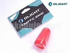OLIGHT Diffuser Traffic Wand Red Tip Cone for S1 Flashlight