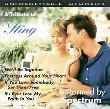 Tribute to Sting by Spectrum (Easy) (CD, Sep-1993, Compendia Music Group)