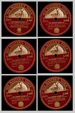 """SADLER'S WELLS ORCHESTRA William Boyce: """"The Prospect before us"""" 78rpm  3x GS233"""