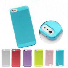 Design Plastik Hülle für Apple iPhone 5s 5 Cover Tasche Case - Gelb (51GE)