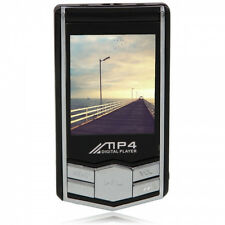 """8GB 1.8"""" LCD MP3 MP4 Player with FM Function - Black"""