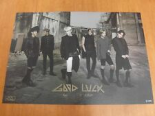 BEAST - Good Luck (BLACK) [OFFICIAL] POSTER *NEW* K-POP B2ST