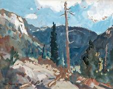 Borg Oscar Carl Grand Cayon Canvas 16 x 20   #3056