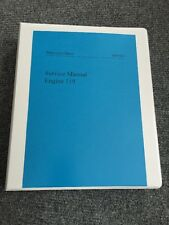 Mercedes Engine Repair Workshop Service Manual 500SL SE SEL SEC S500 E500 119