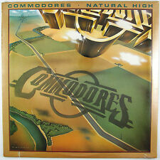 COMMODORES Natural High LP 1978 R&B/SOUL(STILL SEALED/UNPLAYED)