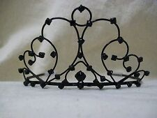 Fancy Black Gothic Tiara Evil Queen Wicked Princess Vampire Persephone Ravenna