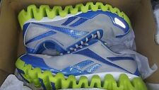 REEBOK  CROSSFIT ZIG PULSE ZIGTECH lime green blue gray RUNNING SHOES MENS 8