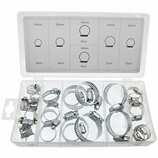 26 Piece Hose Clamp Jubilee clip Assortment kit