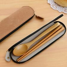 Chopsticks and Spoon,portable cutlery sets,wooden tableware,Low-carbon life
